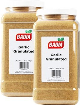 Badia Garlic Granulated 5.5 lbs Pack of 2 by Badia