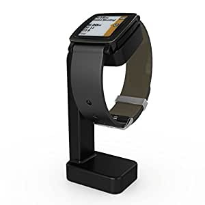 Pebble Time Charger,Nogis Replacement Vertical Charger Stand Cradle Charging Station Dock for Pebble Time Smart Watch