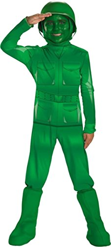 [Green Army Man Costume - X-Small] (Army Men Halloween Costumes)