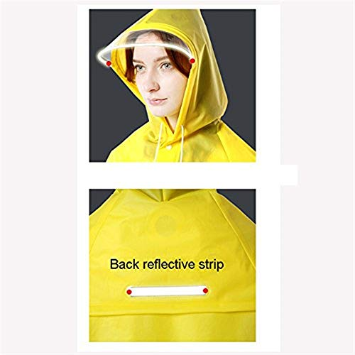 Impermeabile Hiking Ragazza Adult Fashion Single Trasparente C Raincoat Student Long Women Poncho Outdoor Paragraph Tourism Ytw7nq