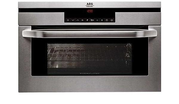 AEG KB-9810-E-m 31 L 1000 W Acero inoxidable - Microondas (31 L ...