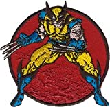 X-Men Marvel Comic Wolverine Stance Iron On Patch P3360