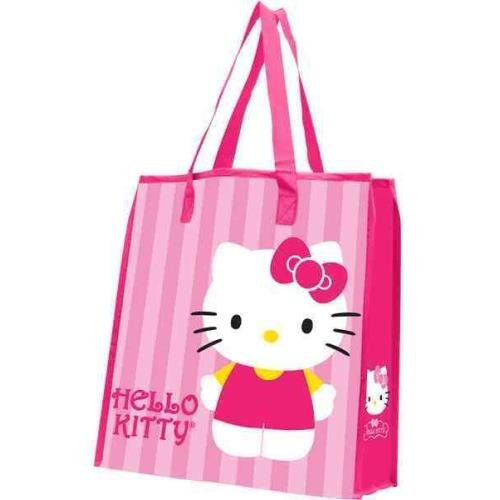 Hello Kitty Stripes Large Shopper Tote