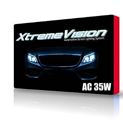 XtremeVision® AC 35W HID Xenon Conversion Kit with Premium Slim Ballast