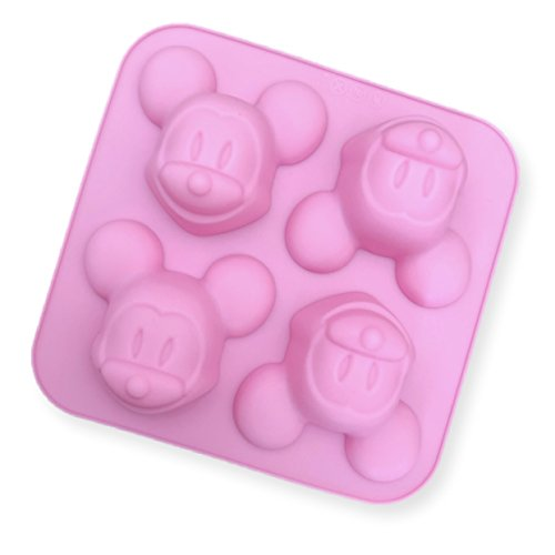 Disney Mickey Mouse 3D Decorating Silicone Mold - Custom Decorating Molds from Bakell (Candy Molds Custom)