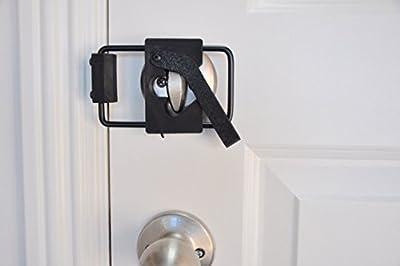 LOKmate Deadbolt Guard Door Lock Security - Magnet Version