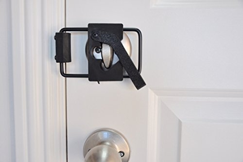 LOKmate Deadbolt Door Lock Security (Black on Black)
