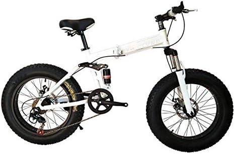 Bicicleta de montaña, Bicicleta Plegable de 26 Pulgadas con Marco ...