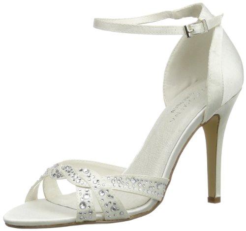 Elfenbein Ivory Wedding 04 Color Donna Scarpe Menbur Col Catalina Osso Tacco CU8xqFx