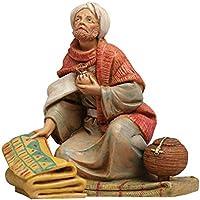 Fontanini Datos Figuras belén Pastor con Alfombra 12cm