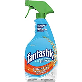 Fantastik All-Purpose Cleaner 32fl.oz Powers Through Touch Crease & Grime Pack of 3 (with Bleach)
