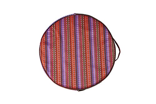 Bendir Drum (Traditional Jajim Cover soft case of Daf Erbane Bendir)