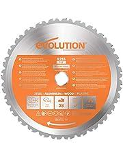 Evolution elverktyg – RAGE universalsågblad 255 mm med volframkarbidbeläggning