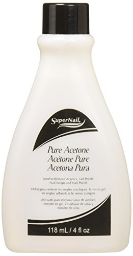 (Super Nail Pure Acetone, 4 Fluid Ounce)