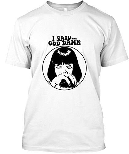 ARORAMA Pulp Fiction - Mia Wallace - God Damn 2 Unisex T-Shirt Sweatshirt -