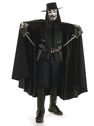 Rubie's Mens Grand Heritage V for Vendetta Costume