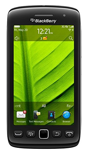 BlackBerry Torch 9860 Unlocked 3G GSM Phone with 3.7-Inch Touch Screen, 5MP Camera, Wi-Fi, Bluetooth and GPS - US Warranty - Black (Rim Blackberry 3g)