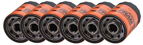 FRAM PH10575 Spin-On Oil Filter - Pack of 6