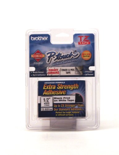 Brother Printers 12MM 1/2 TZS231 TZ Industrial Tape
