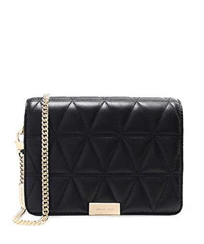 MICHAEL Michael Kors Women's Quilted Leather Clutch Bag One Size Black by MICHAEL Michael Kors
