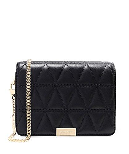 michael kors black quilted bag - 6