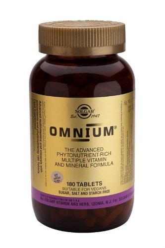 Solgar - Omnium - 180 comprimés-multi-vitamines