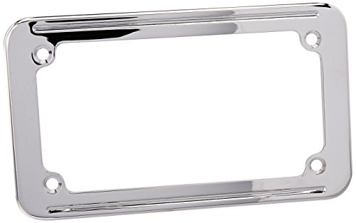 Kuryakyn 9163 Small License Plate Frame (License Plate Kuryakyn Frame Curved)