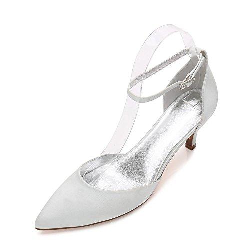 De Más Punta Y L Boda Zapatos Mujer Boda fiesta Para Noche Colores Sandalias Silver Disponibles yc Con BPPOqxwE8