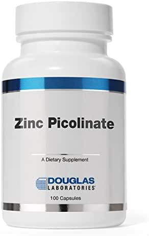 Douglas Laboratories - Zinc Picolinate (Capsules) - 50 mg. of Zinc from Zinc Picolinate Complex - 100 Capsules