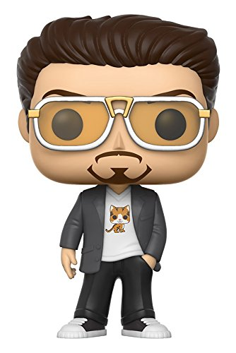 Funko POP Marvel Spider-Man Homecoming Tony Stark Action Figure