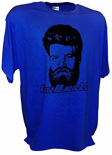 MENS Fitzmagic 2.0 Ryan Fitzpatrick NY Jets Football QB 14 Funny Tee By Achtung T Shirt LLC