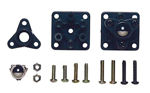 Tamiya 70144 Ball Casters Unassembled (2), 70144