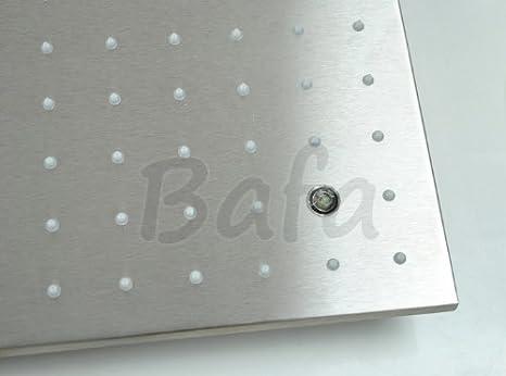 Amazon.com: HelloHome LED 24 inch ducha de lluvia Head ...