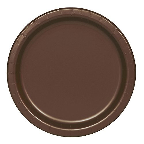 Brown Paper Plates, 16ct