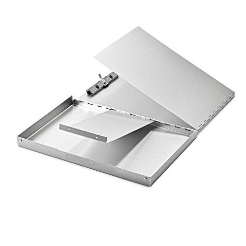 AdirOffice Aluminum Snapak Form Holder - Clipboard (12