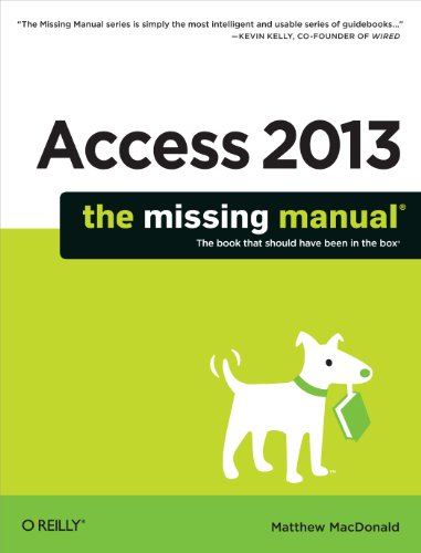 Download Access 2013: The Missing Manual Pdf
