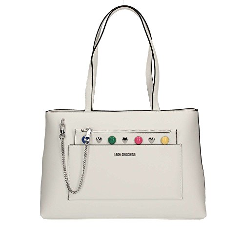 LOVE MOSCHINO JC4300PP05 SHOPPER Donna Bianco