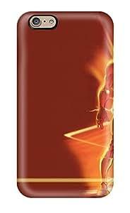 Iphone 6 The Flash Print High Quality Tpu Gel Frame Case Cover