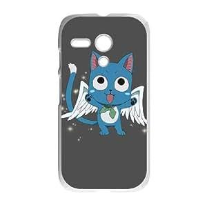 Fairy Tail Happy Motorola G Cell Phone Case White DIY Present pjz003_6511406