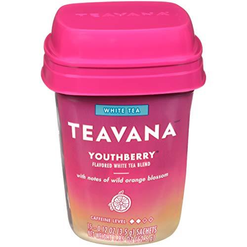 Teavana Youthberry Tea Bags, 15 Tea Bags,(total 1.85oz), pack of 1 -  Black Tea Teavana