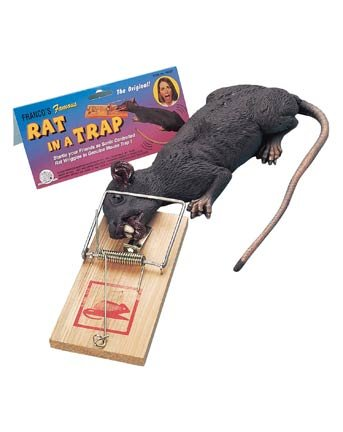 Rat Trap Halloween Costume (Animated Rat in a Trap Halloween Prop)