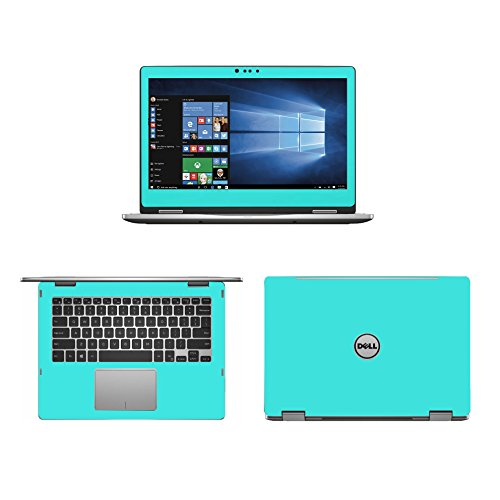 Mint Green skin decal wrap skin Case for Dell inspiron 13 50