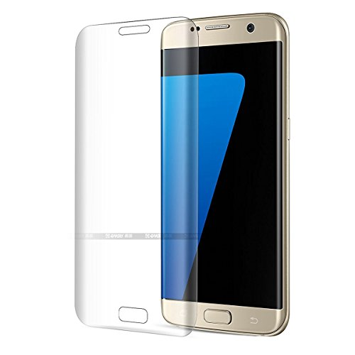 Hat-Prince 0.26mm 9H+ Surface Hardness 3D Heat Bending Explosion-proof Full Screen Tempered Glass Film for Samsung Galaxy S7 Edge