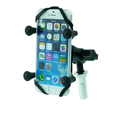 BuyBits 13.3-14.7mm Motorcycle Fork Stem Yoke Mount for iPhone 6 & 6S (4.7