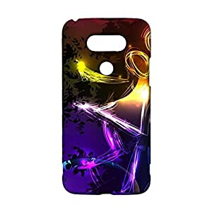LG G5 Couples Series Phone Case Cover,Colorful Beauty Couples Series Pattern Customised Exquisite 3D Hard Shell Case for LG G5