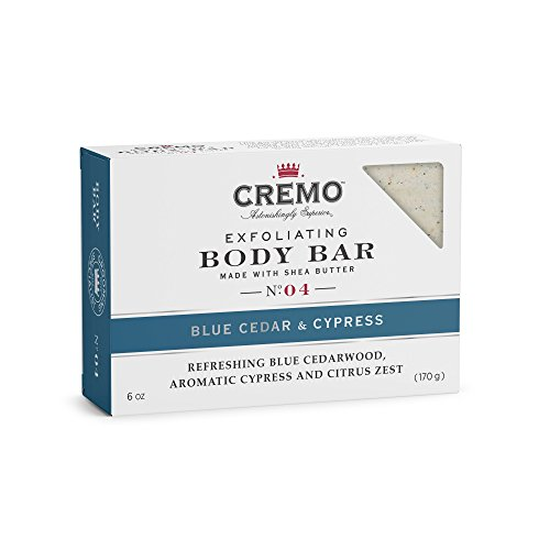 Cremo Exfoliating Body Bar With Shea Butter - Blue Cedar & C