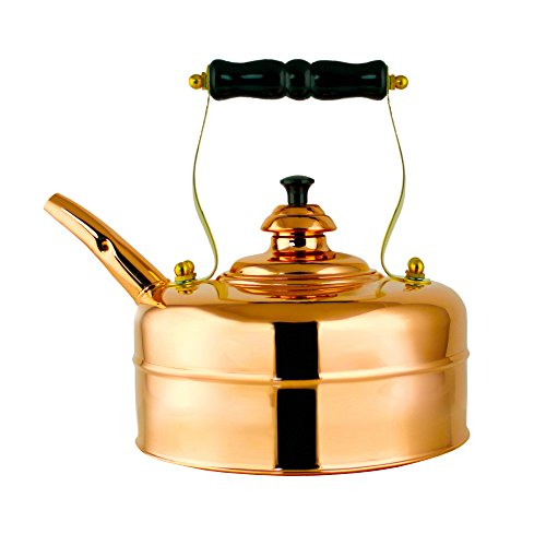 Richmond Heritage No. 1 Traditional Solid Copper Kettle by Richmond Kettle Company