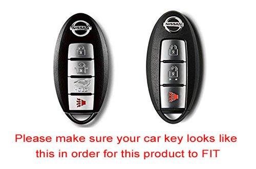 iJDMTOY (1 Exact Fit Gloss Metallic Red Smart Key Fob ...