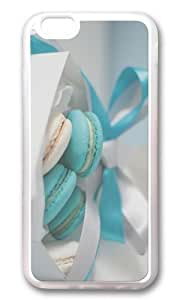 MOKSHOP Adorable cream cookies Soft Case Protective Shell Cell Phone Cover For Apple Iphone 6 (4.7 Inch) - TPU Transparent