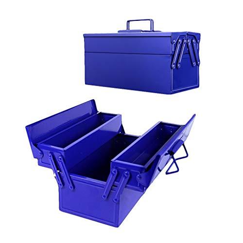 17 Cantilever Tool Box - ZSHLZG Toolbox Multi-Function Iron Box Household car Classification Storage Box (Size : 33cm16cm17cm)